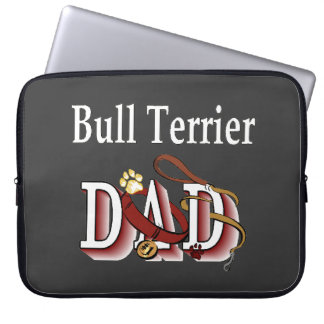 Bull Terrier Dad Computer Sleeve