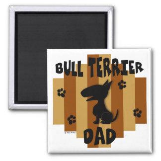 Bull Terrier Dad Magnet