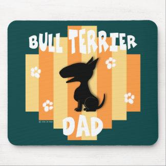 Bull Terrier Dad Mousepad