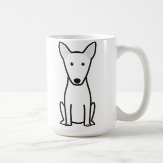 Bull Terrier Dog Cartoon Coffee Mug