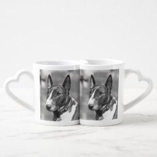 Bull Terrier dog Coffee Mug Set