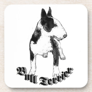Bull Terrier dog Drink Coaster