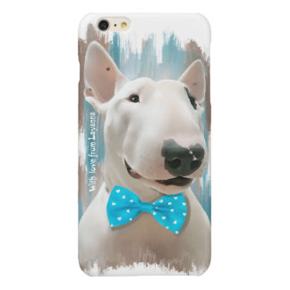Bull Terrier dog Glossy iPhone 6 Plus Case