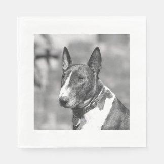 Bull Terrier dog Napkin