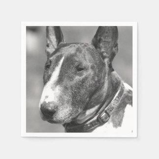 Bull Terrier dog Paper Napkin