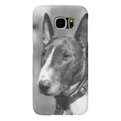 Case-Mate Barely There Samsung Galaxy S6 Case with Bull Terrier Phone Cases design
