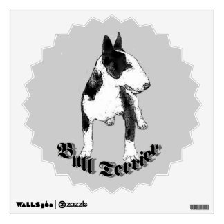 Bull Terrier dog Wall Decal