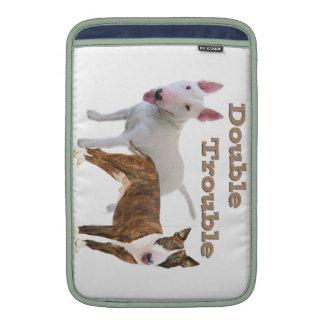 Bull Terrier Double Trouble Sleeve For MacBook Air