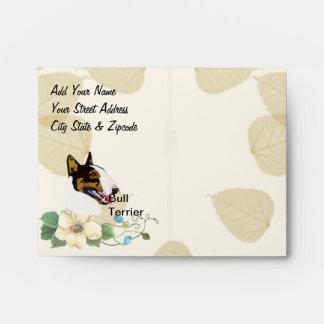 Bull Terrier Envelope