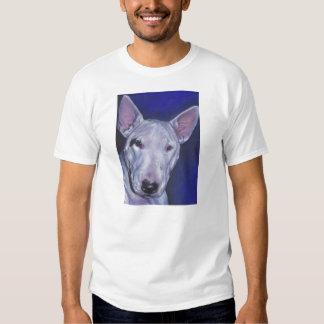 Bull Terrier Fine Art Painting T Shirt