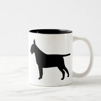 Bull Terrier Gear Two-Tone Coffee Mug