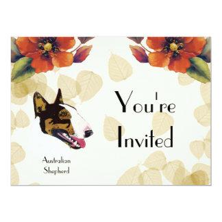 Bull Terrier 6.5x8.75 Paper Invitation Card