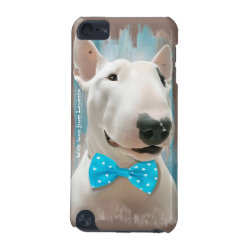 Case-Mate Barely There 5th Generation iPod Touch Case with Bull Terrier Phone Cases design
