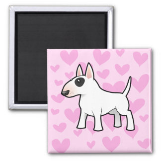 Bull Terrier Love Magnet