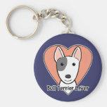 Bull Terrier Lover Key Chains
