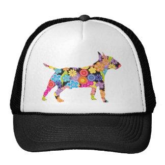 Bull terrier miniatura gorro de camionero