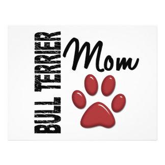 Bull Terrier Mom 2 Flyers