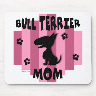 Bull Terrier Mom Mousepad