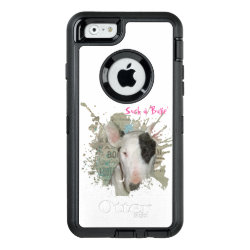 OtterBox Symmetry iPhone 6/6s Case with Bull Terrier Phone Cases design