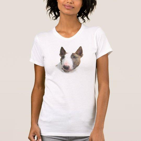 Bull terrier painted girl T-Shirt