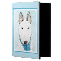 Bull Terrier Painting - Cute Original Dog Art Powis iPad Air 2 Case