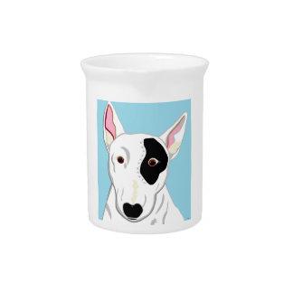 Bull Terrier Pitcher