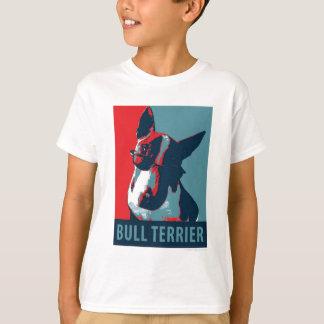 Bull Terrier Political Parody T-Shirt