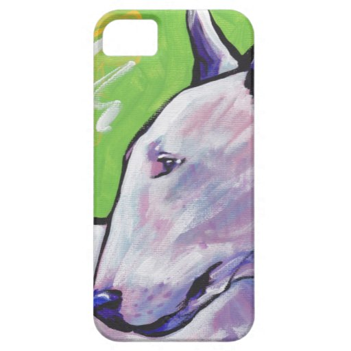 Bull Terrier Pop Art iPhone Case iPhone 5 Covers