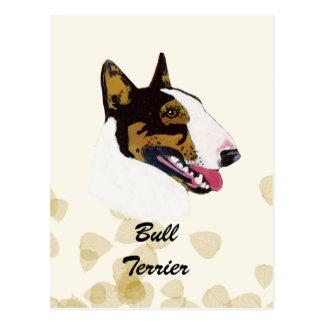 Bull Terrier Postcard