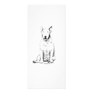 Bull Terrier Full Color Rack Card