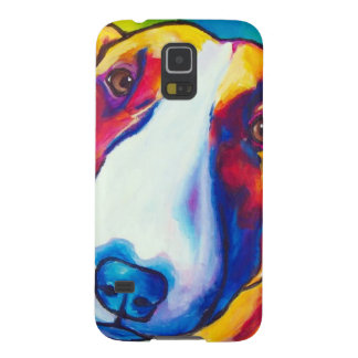 bull terrier red and white 2 galaxy s5 cases