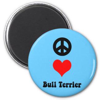 Bull Terrier Refrigerator Magnet