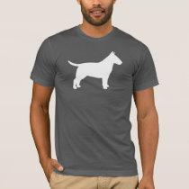 Bull Terrier Silhouette T-Shirt