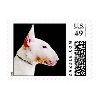 Bull Terrier small postage