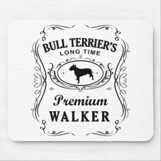 Bull terrier tapete de raton
