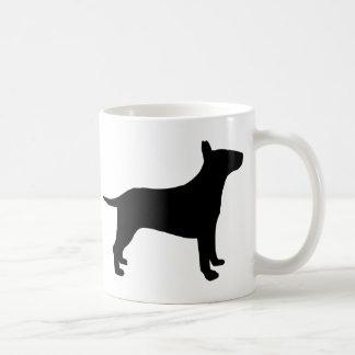 Bull terrier taza de café