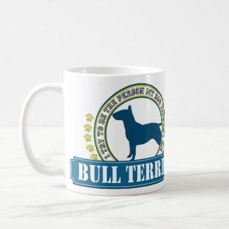 Bull terrier taza clásica
