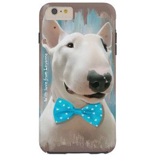 Bull Terrier Tough iPhone 6 Plus Case