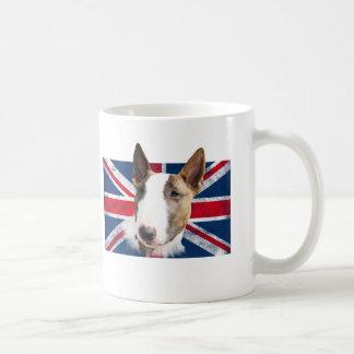 Bull Terrier UK flag grunge //TAZA CUP