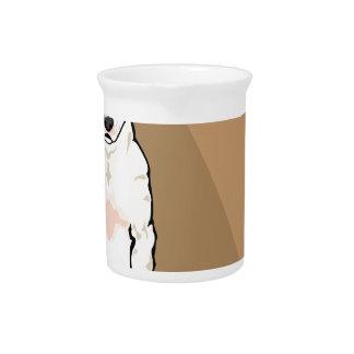 Bull Terrier vector Beverage Pitchers