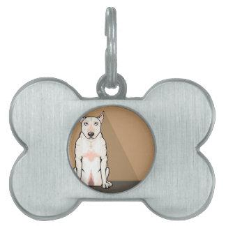 Bull Terrier vector Pet Tags