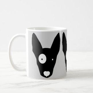 BULL TERRIER  White Mug