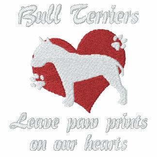 Bull Terriers Leave Paw Prints