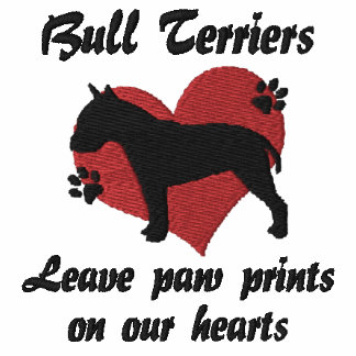 Bull Terriers Leave Paw Prints