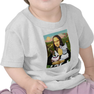 Bull Terriers (Two) - Mona Lisa Tee Shirt