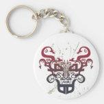 Bull Typo Keychain