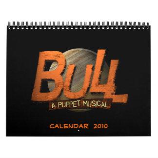 BULL: Un calendario musical 2010 de la marioneta