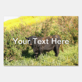 Bull Yard Signs