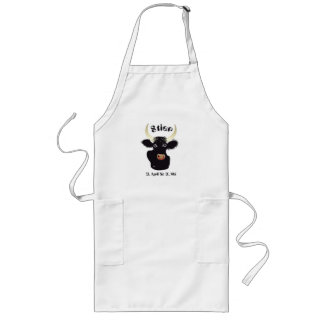 Bull zodiac apron
