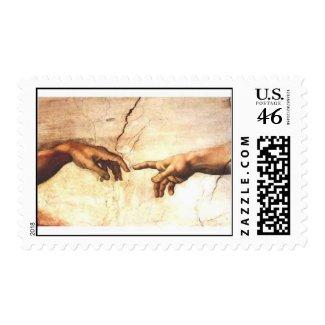 Bulla Sixtina Creationis Adami per Quingentesimum Postage